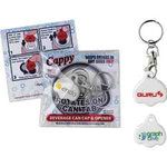 Cappy Beverage Cap with Key Tag