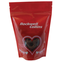 Window Bag with Mini Chocolate Pretzels - Valentines Day