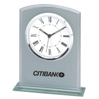 Frosted Glass Alarm Clock
