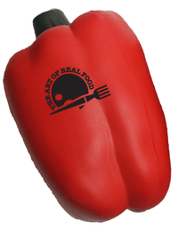 Red Bell Pepper Shape Stress Reliever