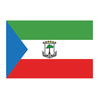 Flag of Equatorial Guinea Temporary Tattoo
