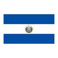 Flag of El Salvador Temporary Tattoo