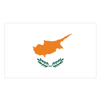 Cyprus Flag Temporary Tattoo