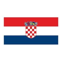 Flag of Croatia Temporary Tattoo