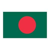 Bangladesh Flag Temporary Tattoo