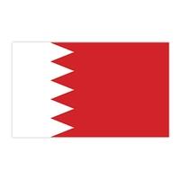 Bahrain Flag Temporary Tattoo
