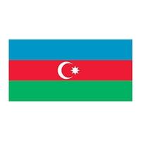 Azerbaijan Flag Temporary Tattoo