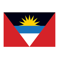 Antigua and Barbuda Flag Temporary Tattoo