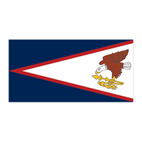 American Samoa Flag Temporary Tattoo