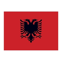 Albania Flag Temporary Tattoo