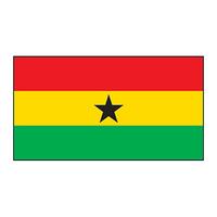 Ghana Flag Temporary Tattoo