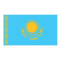 Kazakhstan Flag Temporary Tattoo