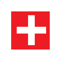Switzerland Flag Temporary Tattoo