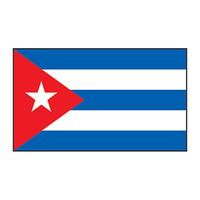 Cuba Flag Temporary Tattoo