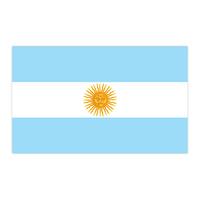 Argentina Flag Temporary Tattoo