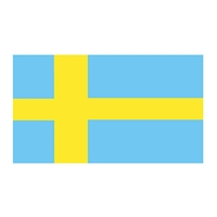 Sweden Flag Temporary Tattoo