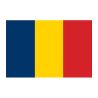 Flag of Romania Temporary Tattoo