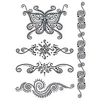 Henna: Mystery Temporary Tattoo Set