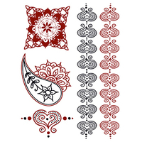 Henna: Romance Temporary Tattoos