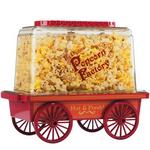 Brentwood Vintage Wagon Popcorn Maker - Red