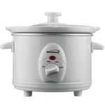 Brentwood 1.5 Quart Slow Cooker - White