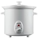 Brentwood 3.0 Quart Slow Cooker - White