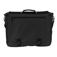 Poly Deluxe Expandable Briefcase Messenger