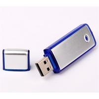 AP Rectangle USB Flash Drive with Transparent Sides