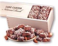English Butter Toffee in Wooden Collector's Box