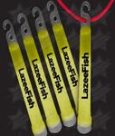 6 Inch Premium Glow Sticks - Yellow