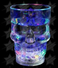 LED 14 oz Liquid Activated Skull Mug - Multicolor