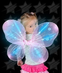 LED Butterfly Wings