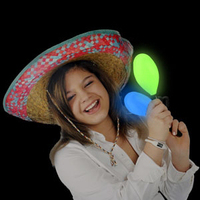 LED Maraca Supreme - Multicolor 7 Inch