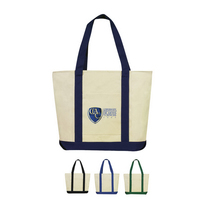 CANVAS BOAT TOTE BAG