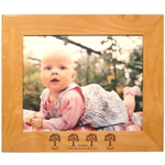 "Wood Picture Frame for 8"" x 10"" Photo"