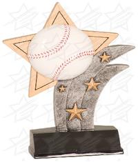 7 inch Baseball Sport Star Resin