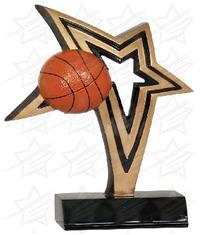 7 inch Basketball Infinity Star Resin