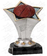7 inch Basketball Rising Star Resin