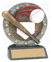 4 1/2 inch Baseball All Star Resin