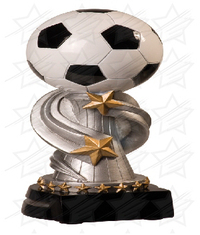 7 inch Soccer Encore Resin