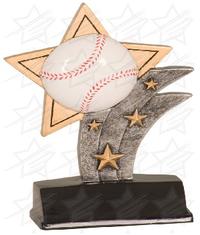 5 1/2 inch Baseball Sport Star Resin