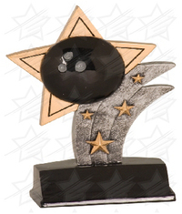 5 1/2 inch Bowling Sport Star Resin