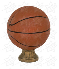 5 1/2 inch Color Basketball Resin