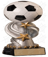 8 1/2 inch Soccer Encore Resin