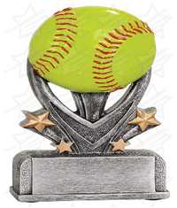 5 1/2 inch Softball Varsity Sport Resin