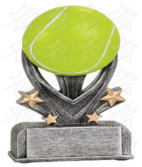 5 1/2 inch Tennis Varsity Sport Resin