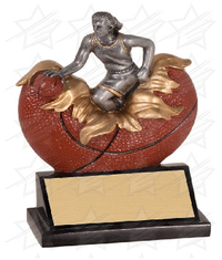 5 1/4 inch Female Basketball Xploding Resin