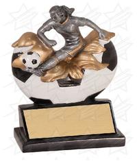 5 1/4 inch Female Soccer Xploding Resin
