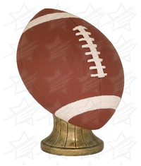 11 inch Color Football Resin