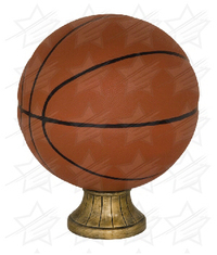 11 1/2 inch Color Basketball Resin